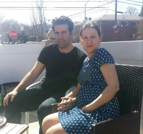 couple d americains Nicholas et Kseniya Soukeras
