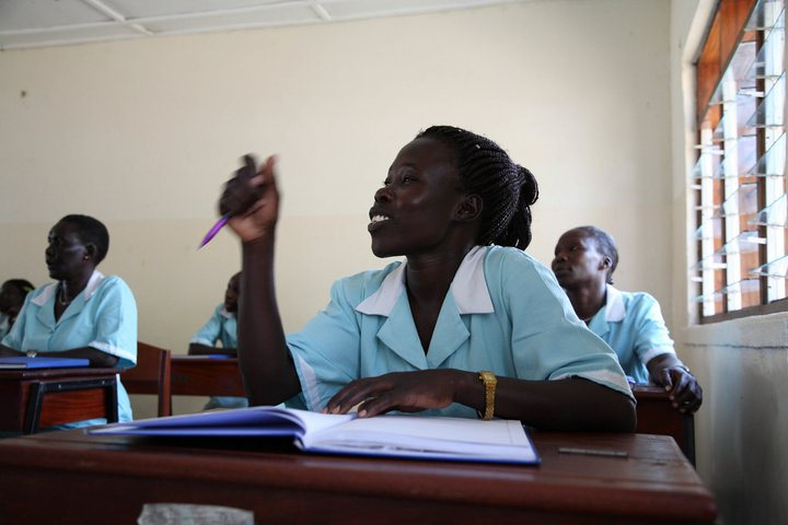 SAGES FEMMES AFRICAINES EN FORMATION