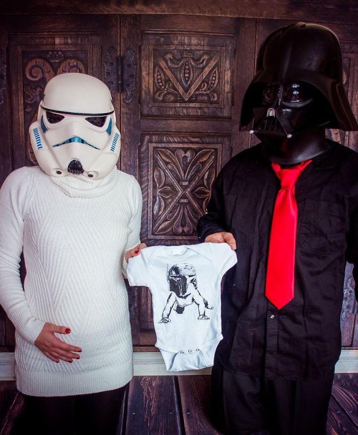 annonce bébé star wars