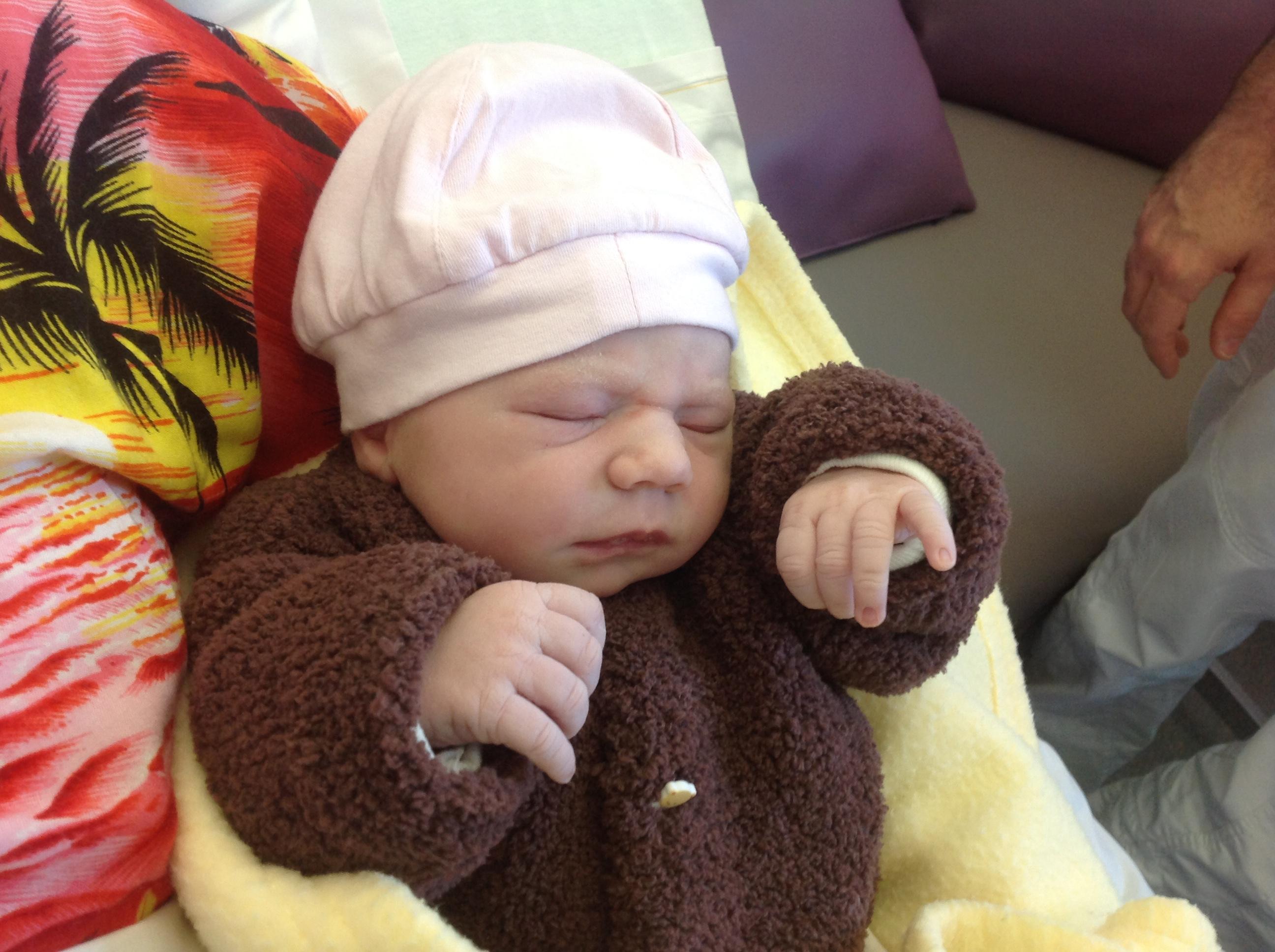 Clémence, née le 27 avril 2015