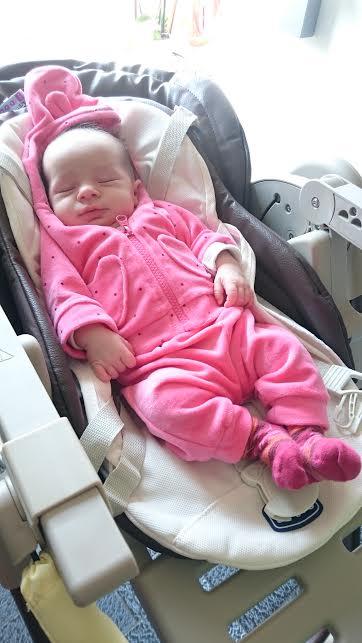 Éloïse, née le 7 avril 2015