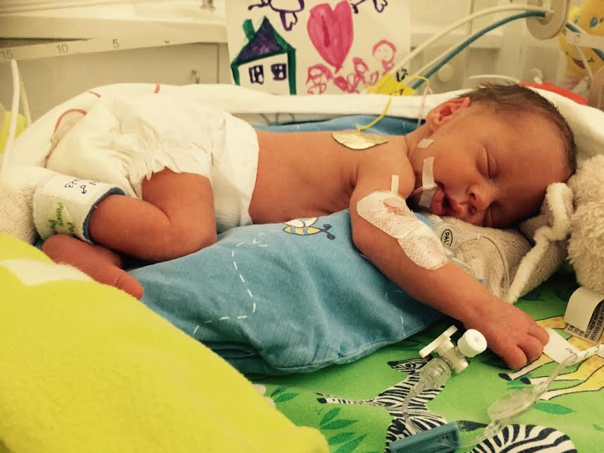 Gabriel, né le 25 avril 2015