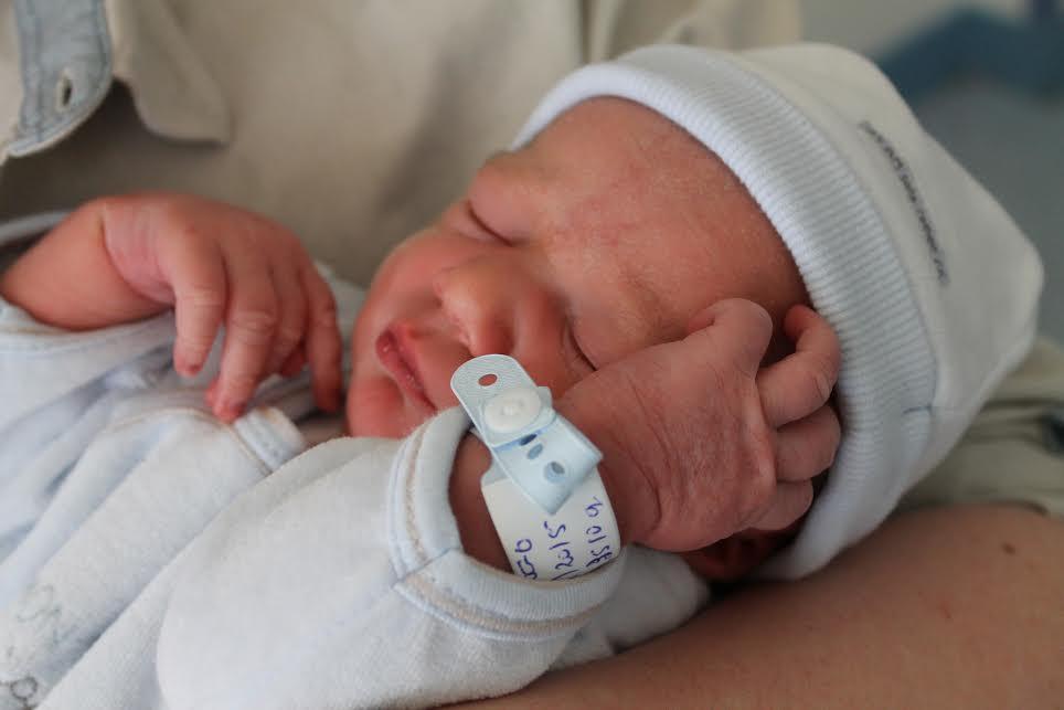 Hugo, né le 9 avril 2015
