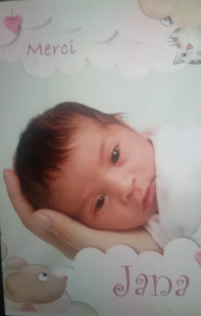 Jana, née le 16 avril 2015