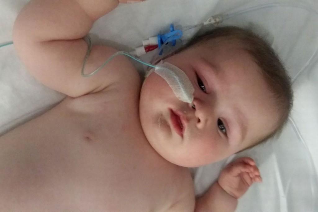 jenson baldwin a lhopital pour soigner sa meningite 2