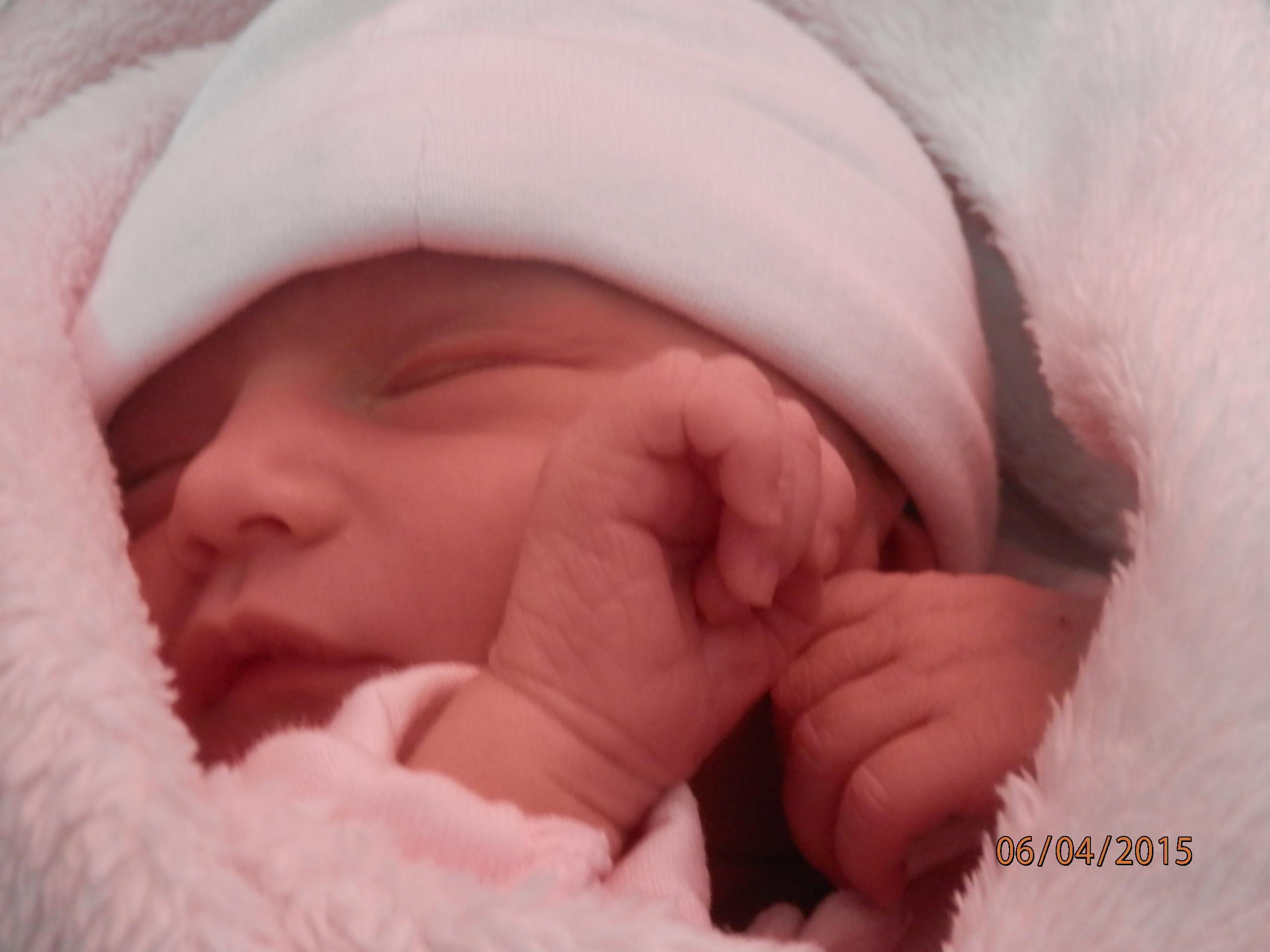 Meï-Lyne, née le 4 avril 2015