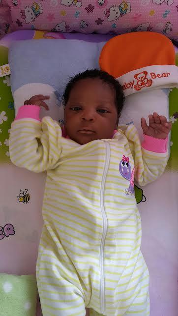 Océlia, née le 1er avril 2015
