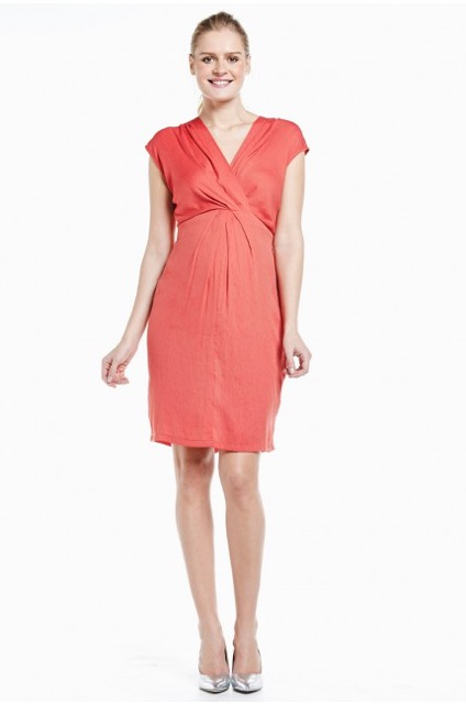 FRAGILE,Robedegrossesse habilléeencrêpecorail,Emoiemoi,135,00€