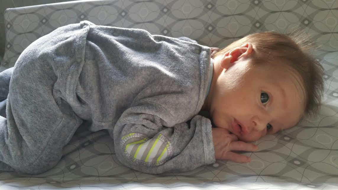 Sacha, né le 5 avril 2015
