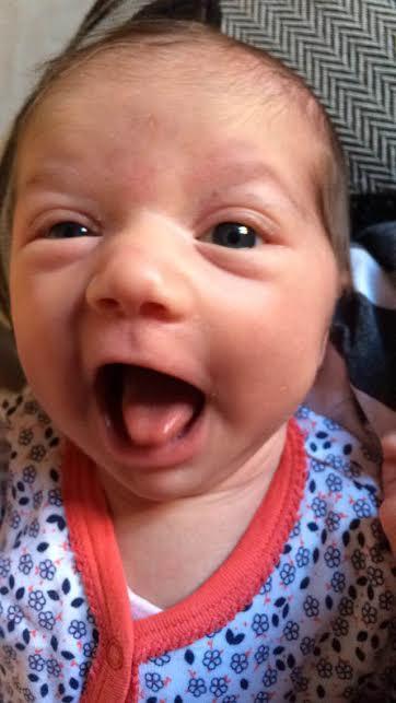 Sophia-Mathilde, née le 8 avril 2015