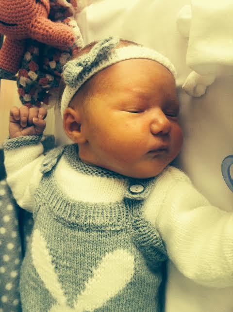 Victoire, née le 16 avril 2015