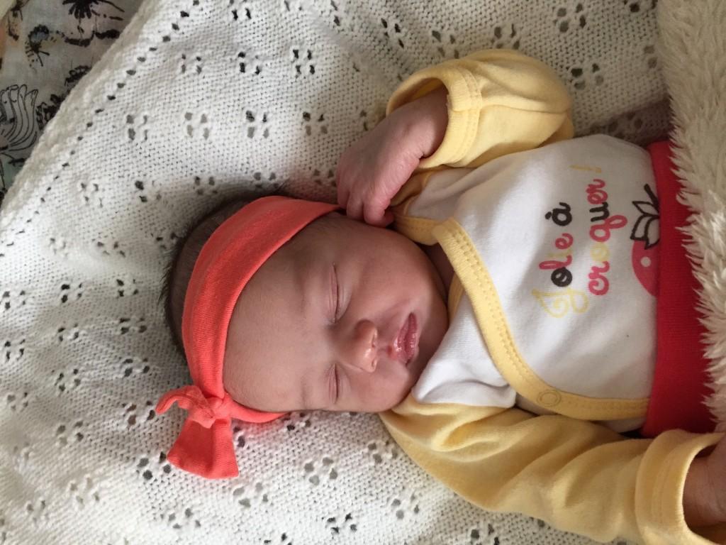 Iléana, née le 26 mai 2015