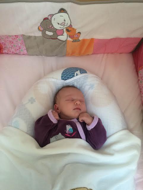 Louise, née le 18 mai 2015