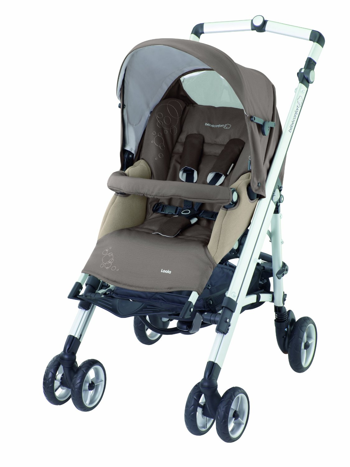 bebe Confort Poussette Combinee LOOLA UP WALNUT BROWN Collection 2013