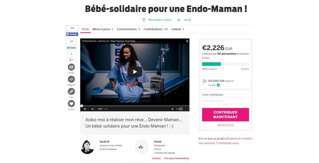 news bebe solidaire appel aux dons pour tomber enceinte