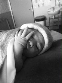 Chloé née le 4 juin 2015