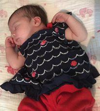 Delphine née le 3 juin 2015