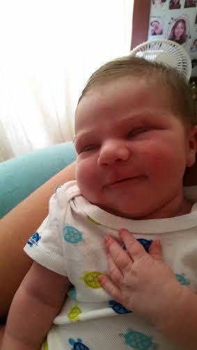Elena, née le 3 juillet 2015