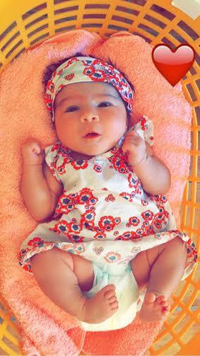 Ilyana, née le 11 juillet 2015