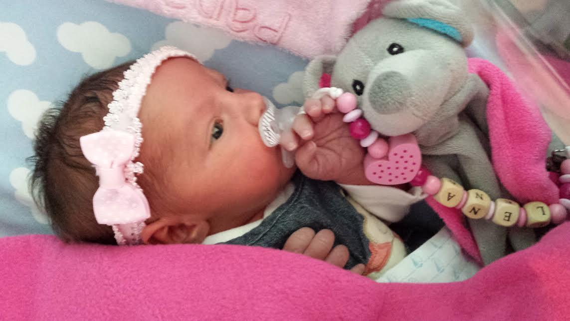 Léna, née le 1er juin 2015