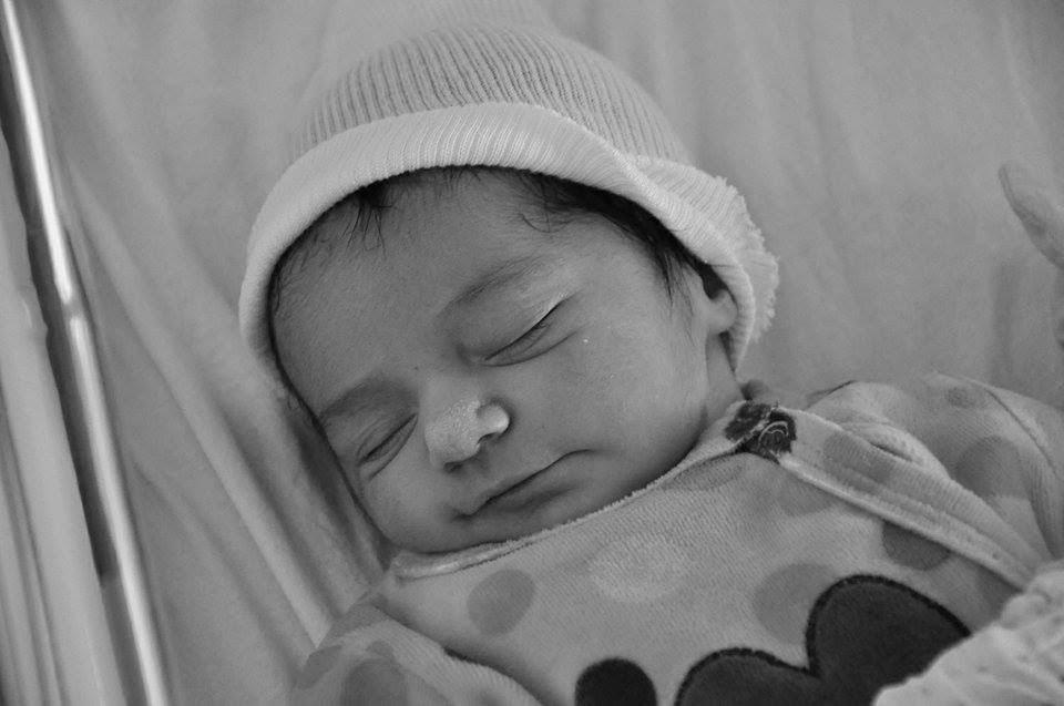 Roxane, née le 7 juillet 2015