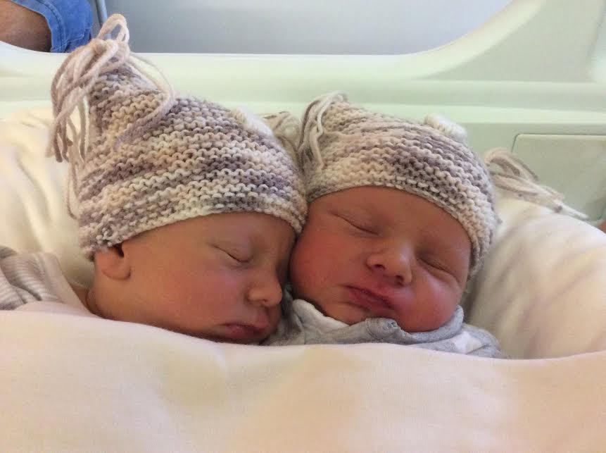 Seth et Daemon nes le 18 juin 2015