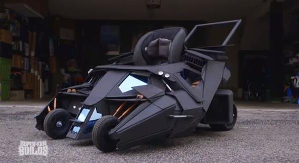 batmobile poussette