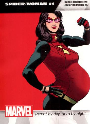 marvel premiere super heroine enceinte spider woman
