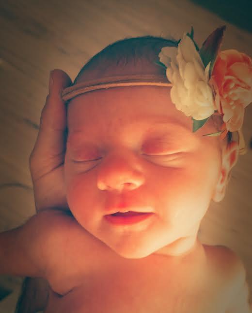 Coline née le 12 août 2015