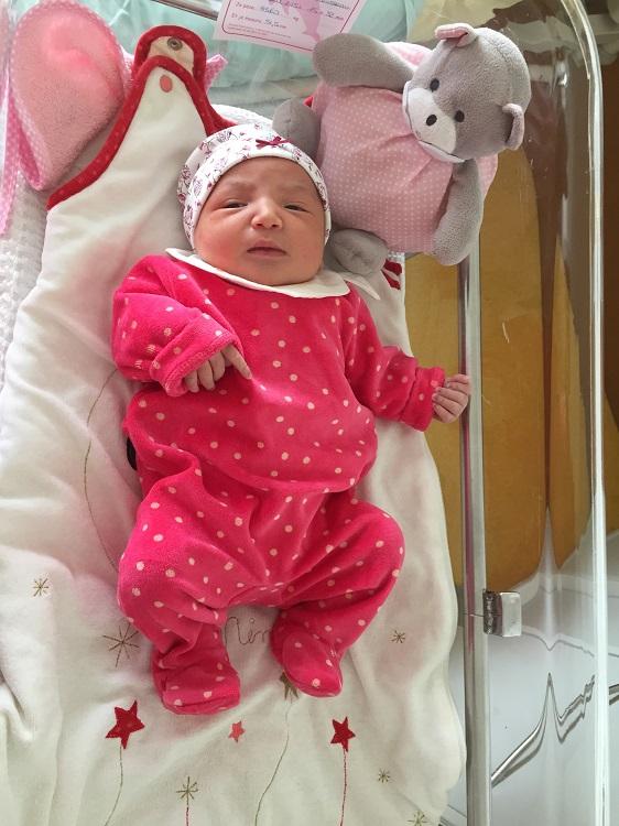 Layèle, née le 29 août 2015