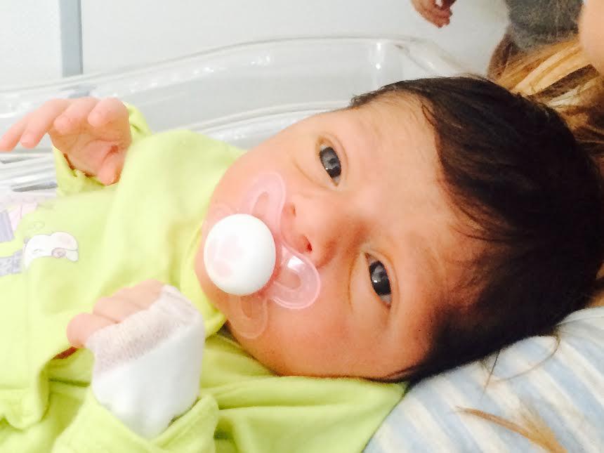 Victoire née le 9 août 2015