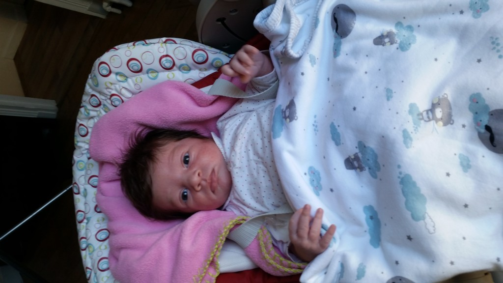 Camille née le 7 août 2015