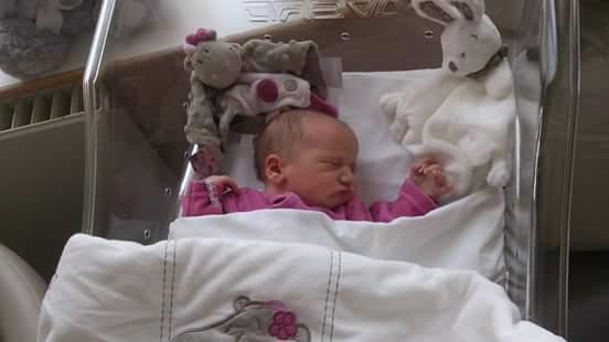 Clara née le 19 août 2015