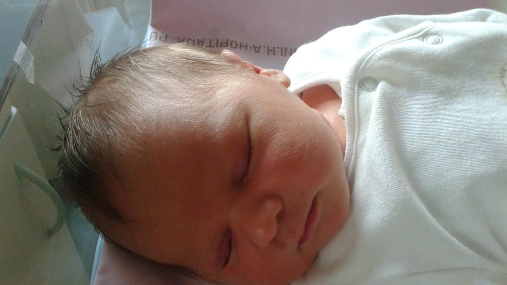 Jules né le 9 août 2015