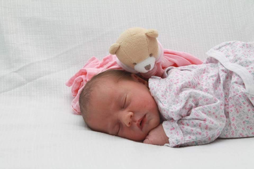 Océane née le 13 août 2015