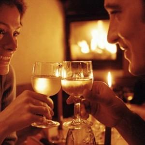 Passer une soirée en amoureux avec chandelles et tutti quanti...