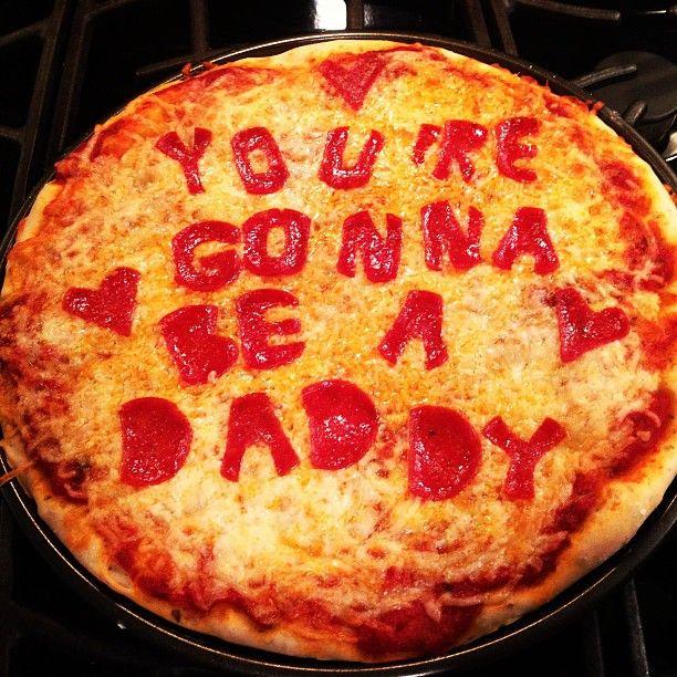 une annonce de grossesse culinaire