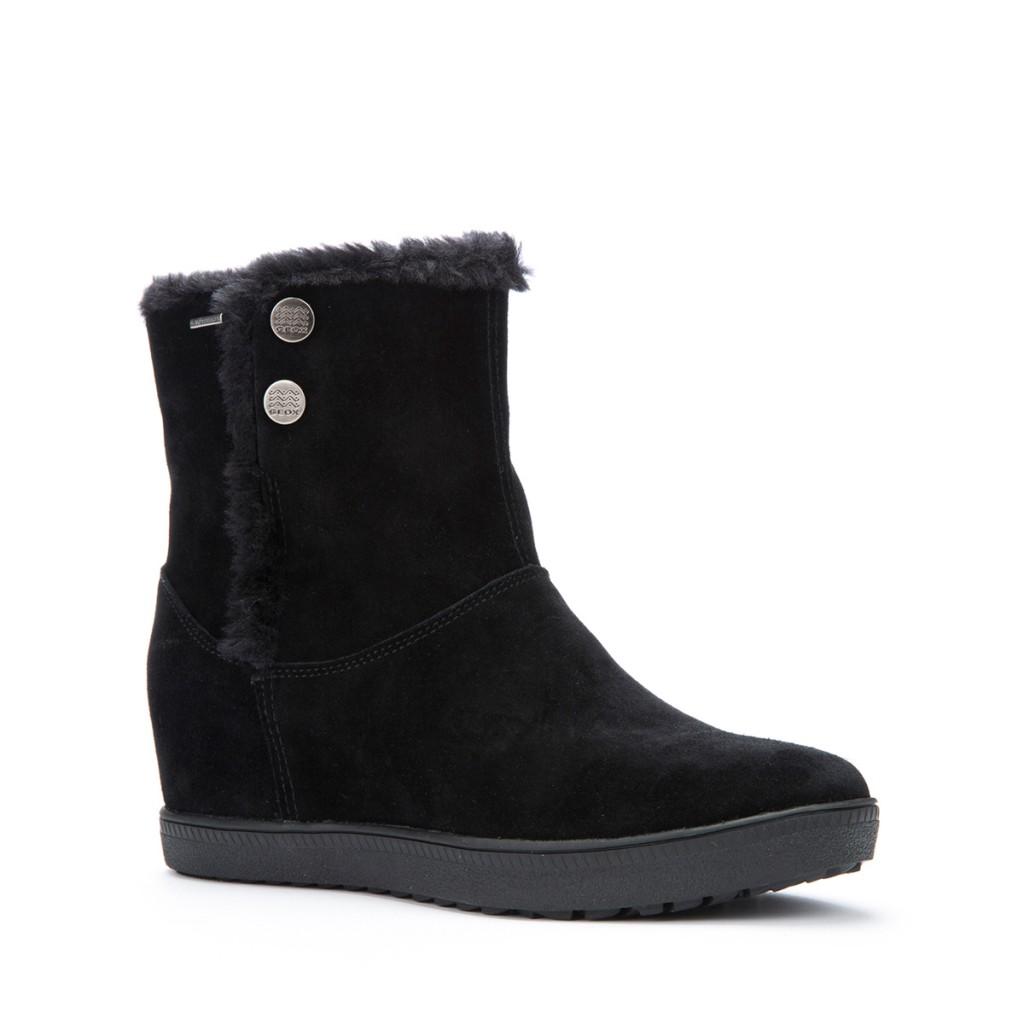 Les Amaranth ABX vues chez Geox, pour Geox Amphibiox sont des bottes idéales pour marcher et possèdent une doublure chaude pour vous protéger contre le froid, un cuir de qualité supérieur ainsi qu'une très haute isolation thermique.  150 euros