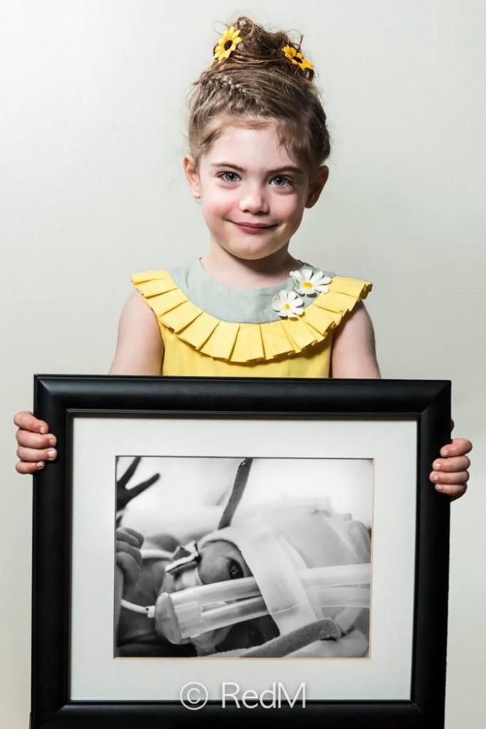 Margot née à 29 semaines
