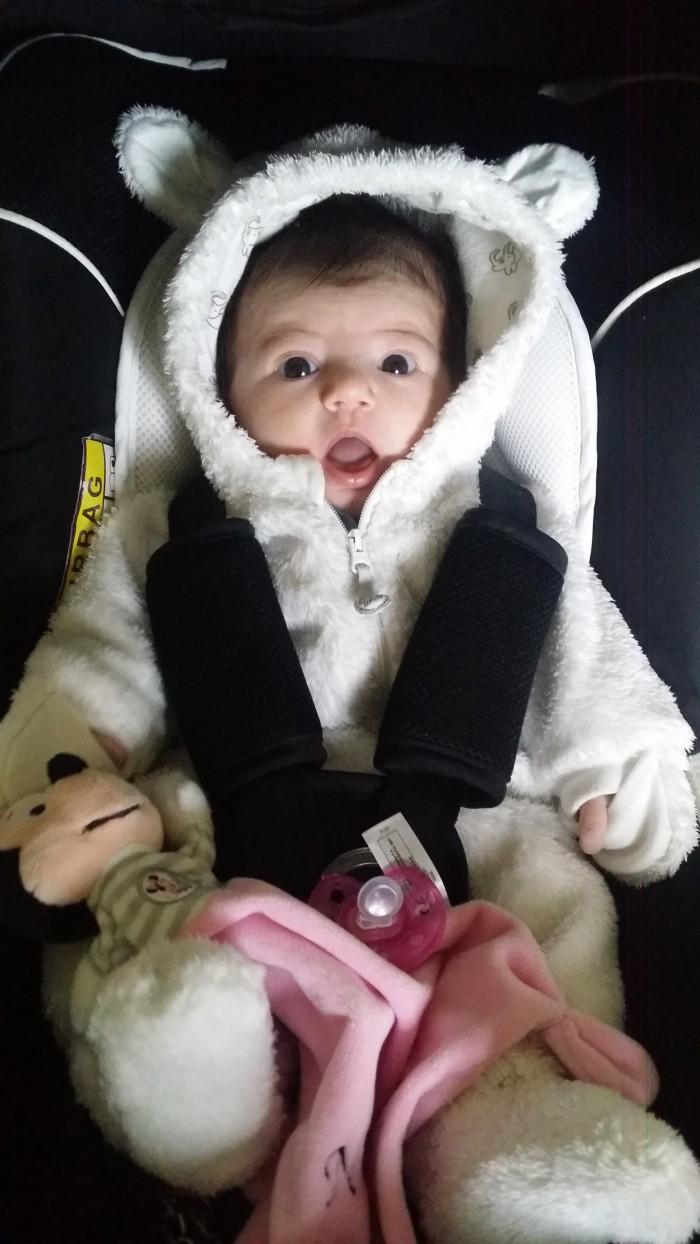 Nélya, née le 4 septembre