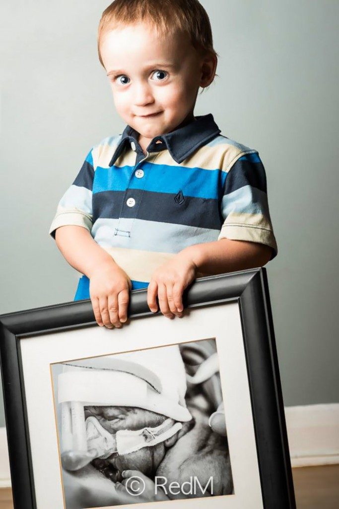 Zachary né à 27 semaines