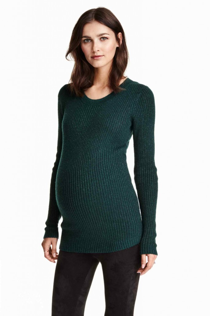 MAMA Pull en maille fine 24.99 euros h&m