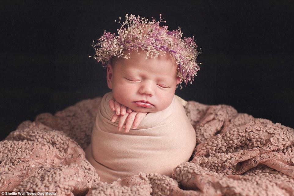 bebe fleurs