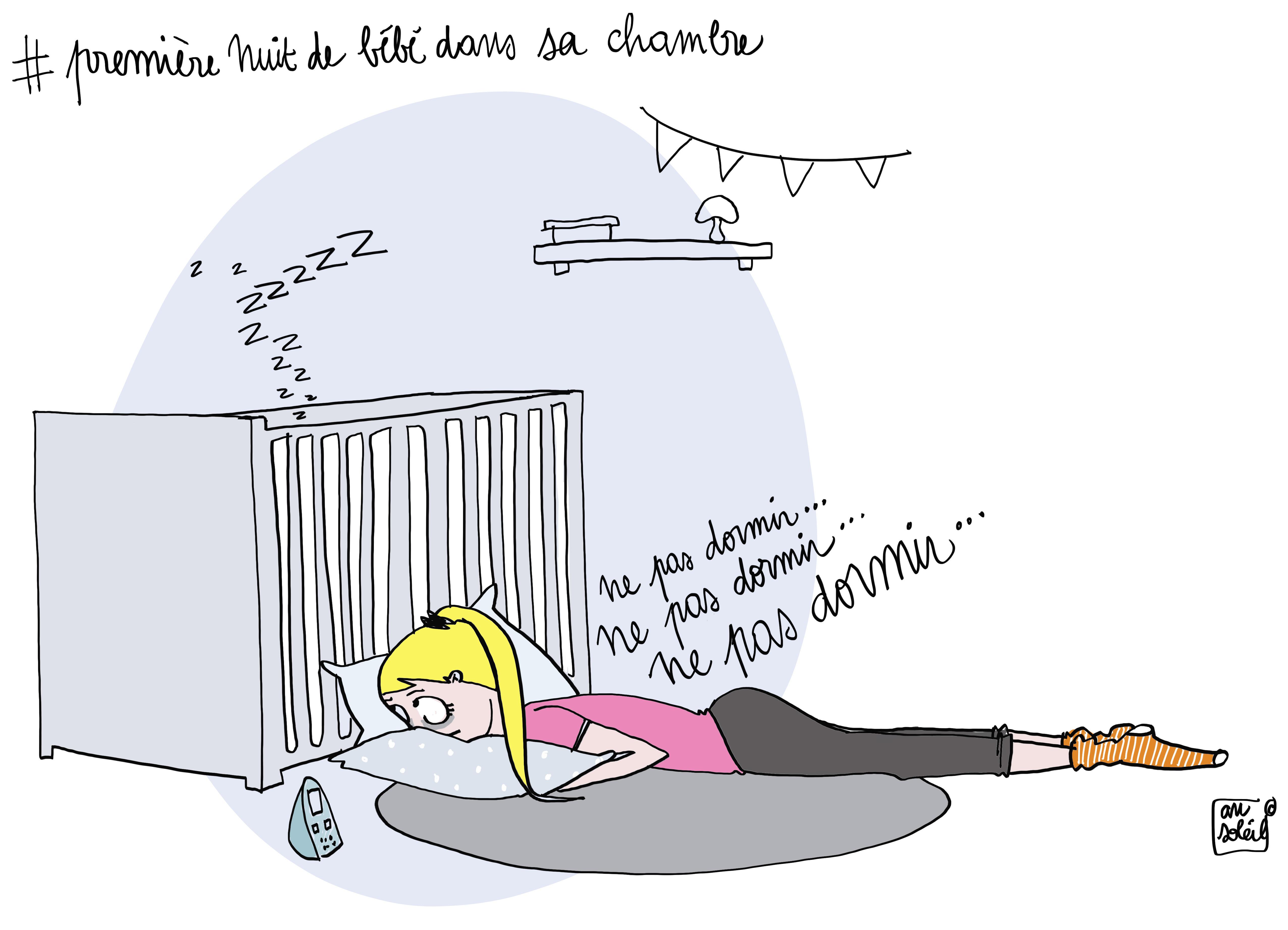 Quand b b dormira la premi re fois seul dans sa chambre - Temperature chambre bebe nuit ...