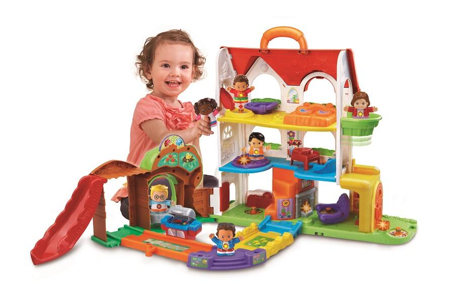 10 jouets malins chiper dans la hotte du p re no l for La maison des bebes