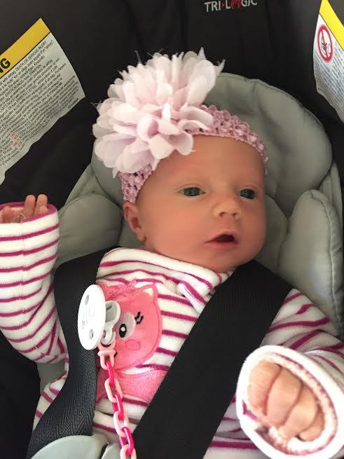 Chloé, née le 16 novembre
