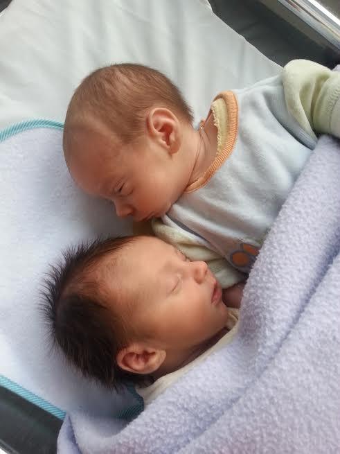 Jason et Jimmy, nés le 17 novembre