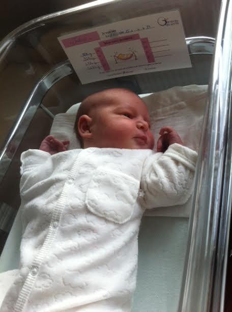 Justine, née le 15 novembre