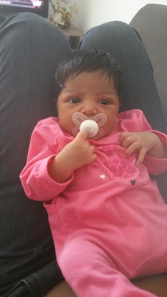 Kélya, née le 6 novembre