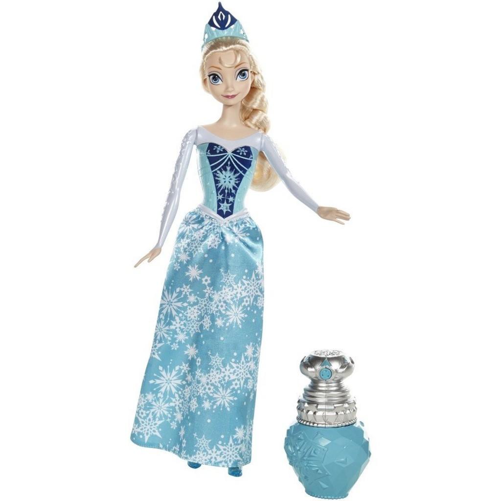 La Reine des Neiges - Bdk33 - Poupee Mannequin - Princesse Elsa Couleur Royale - Frozen
